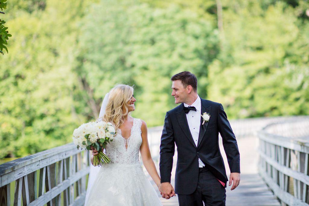 Wedding portrait photos from Lake of Isles Golf Club