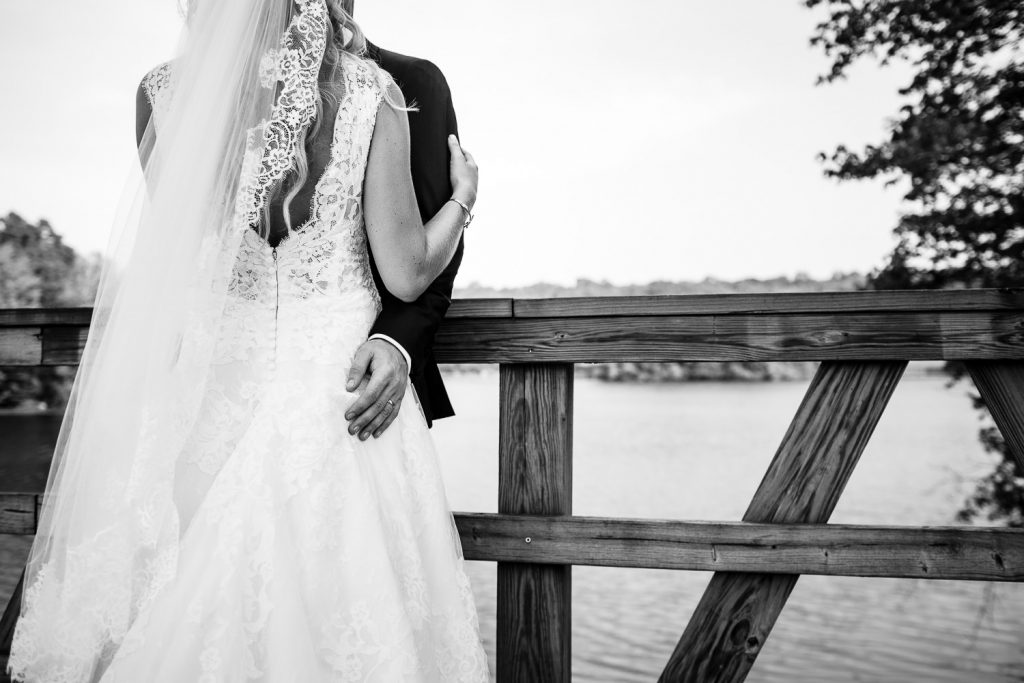 Wedding portrait photos from Lake of Isles Golf Club