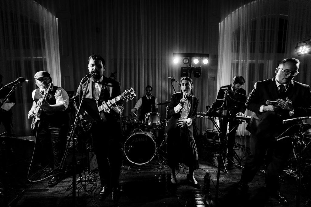 narragansett soul wedding band performs at belle mer